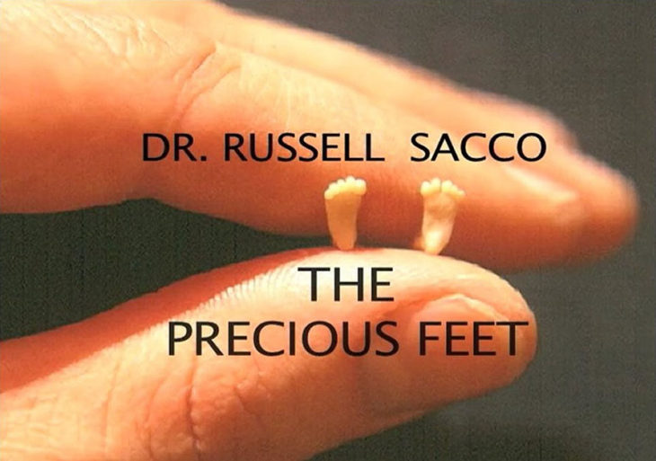 Dr. Russell Sacco, takes the famous image.