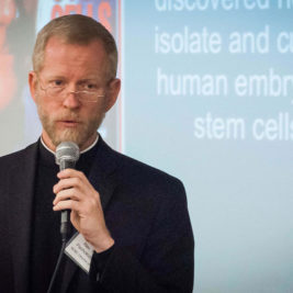 Father Pacholczyk, Ph.D., serves as the Director of Education at The National Catholic Bioethics Center