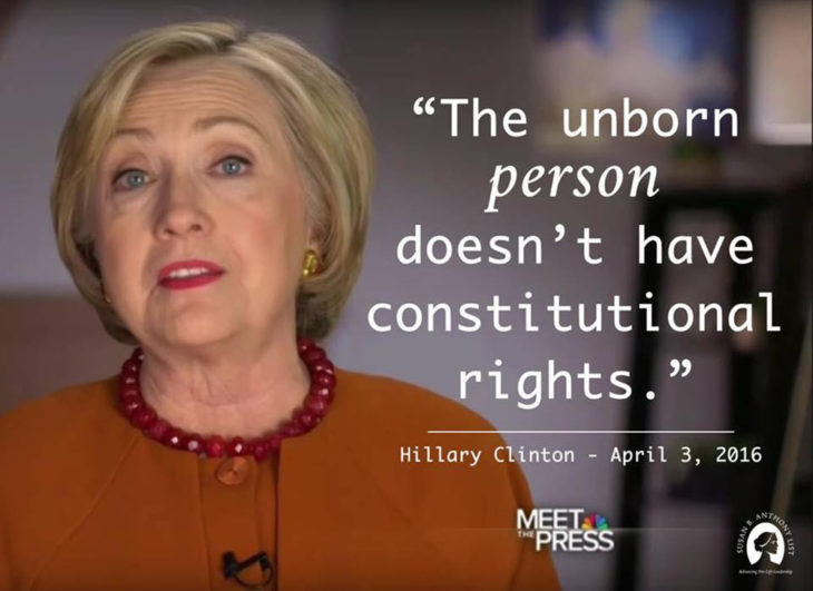 Hillary Clinton's Abortion Extremism