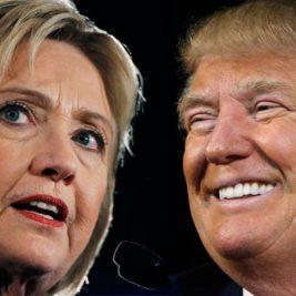 Trump vs Clinton Life on the LIne
