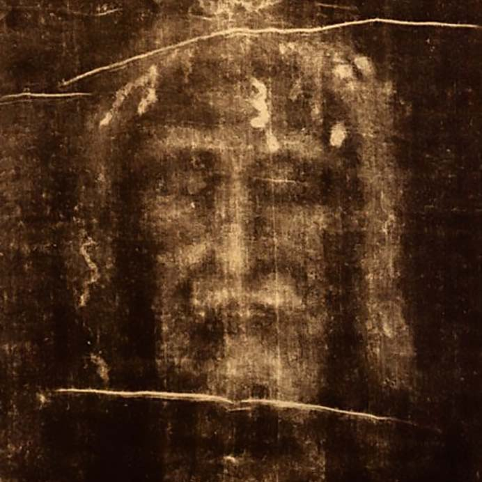 The image of Christ never seen before!