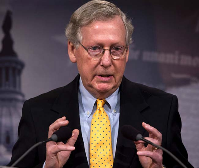 Senate Majority Leader Mitch McConnell of Kentucky