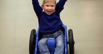 Noah Wall was born with less than 2% of a brain - but he has amazed medics by growing into a happy, chatty little boy