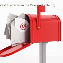 View the Latest E-Letter from the Calendarforlife.org