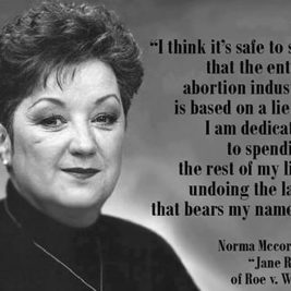 "Jane Roe didn't know the meaning of ""abortion."""