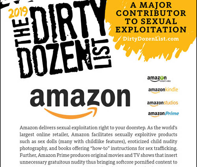 Dirty Dozen List American Culture has been Pornified??